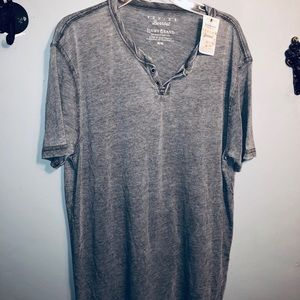 LUCKY BRAND MENS Venice burnout tee shirt NWT